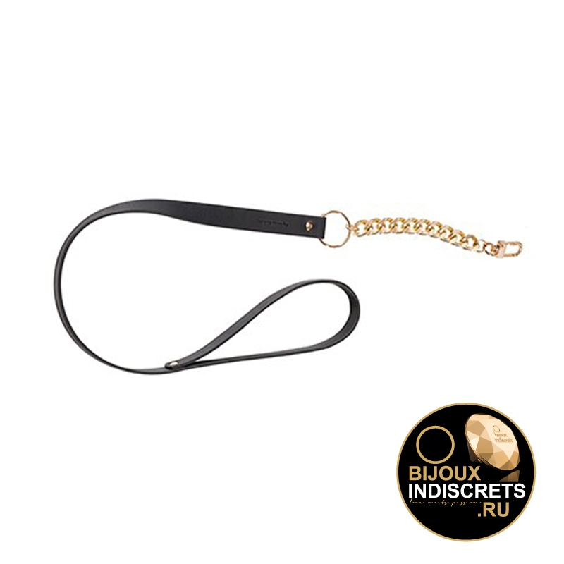 Bijoux Indiscrets MAZE LEASH BLACK. Поводок черный